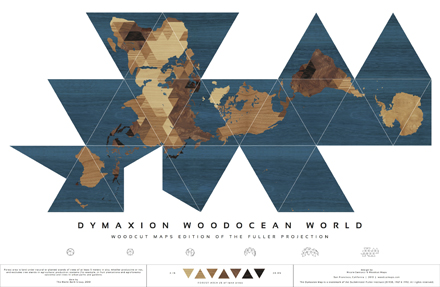 Dymaxion Woodocean World