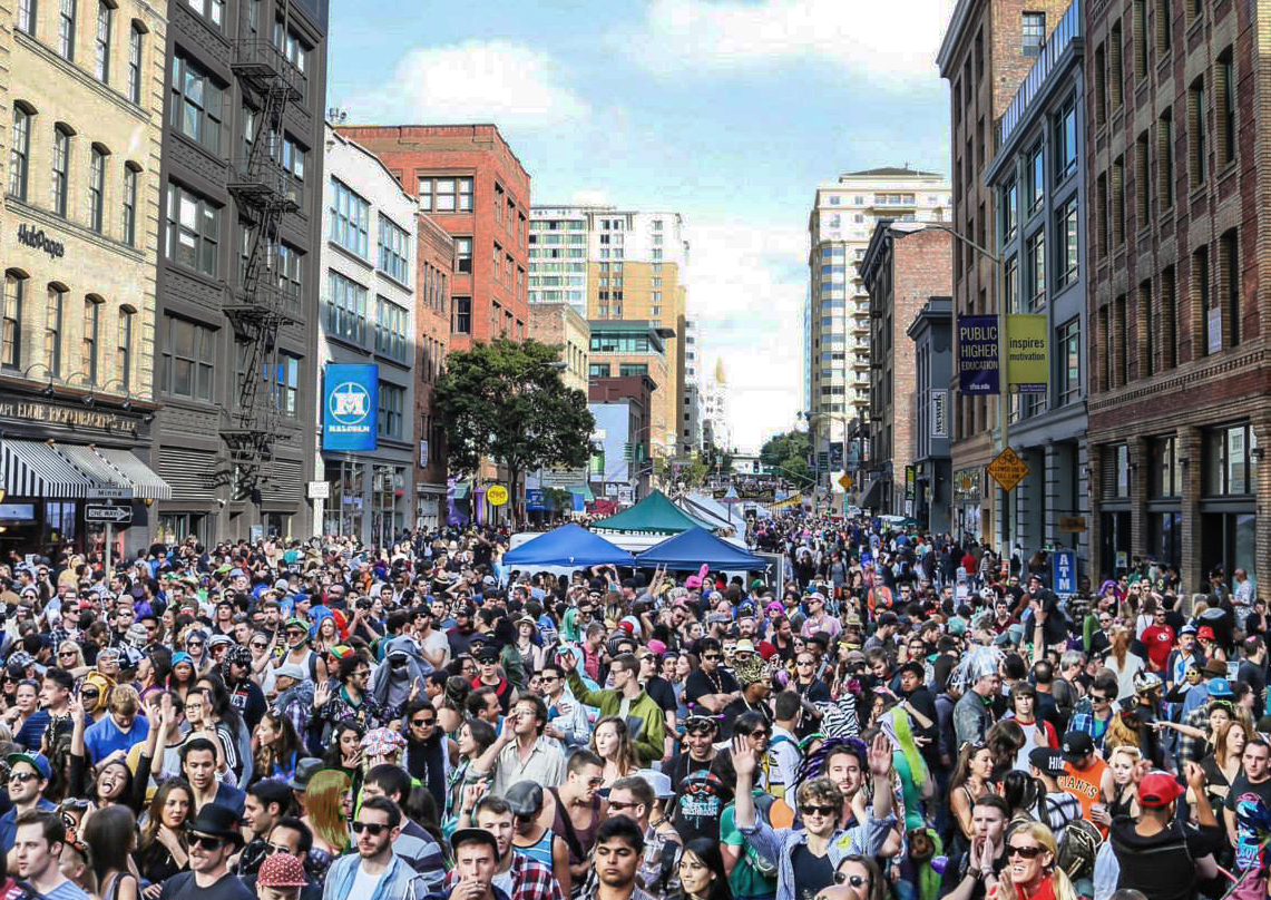 The 15th annual How Weird Street Faire