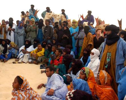 Festival au desert Tende audience
