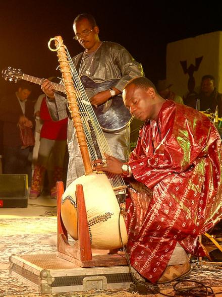 Festival au desert musicians