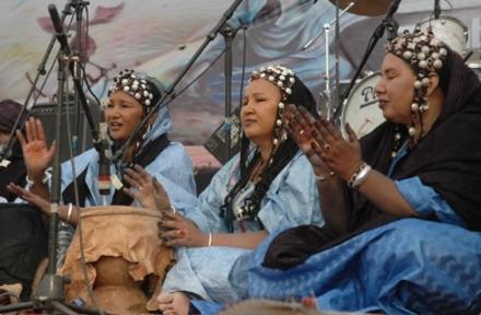 Festival in Desert drumming