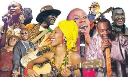 Musicians unite for peace in Mali
