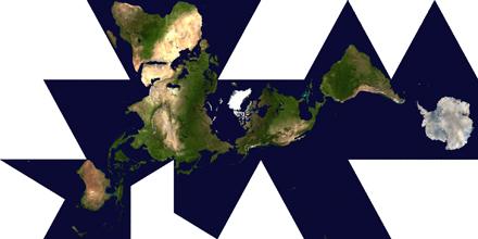 Buckminster Fuller's Dymaxion Map