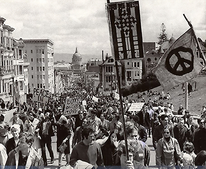 SF peace rally - April, 1967
