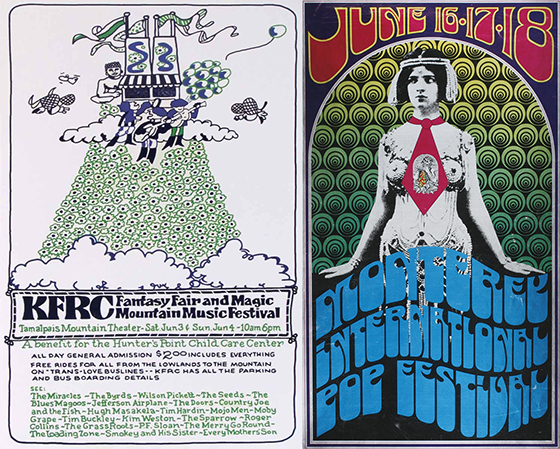 Fantasy Fair and Monterey Pop