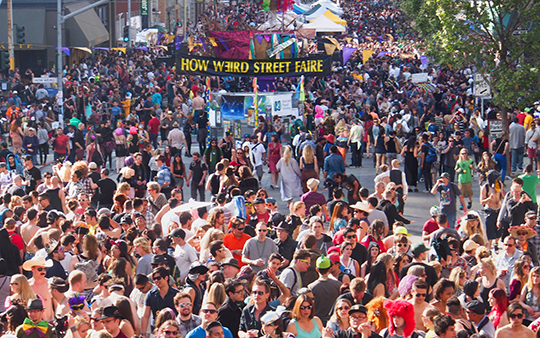 The How Weird Street Faire