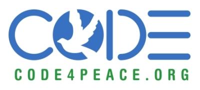 code 4 peace logo