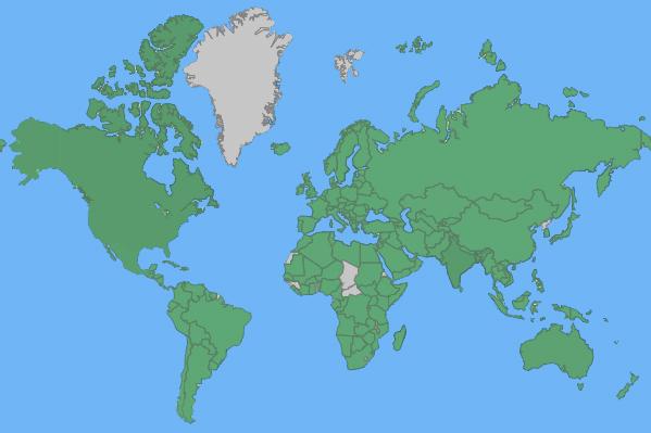 PeaceTour Map