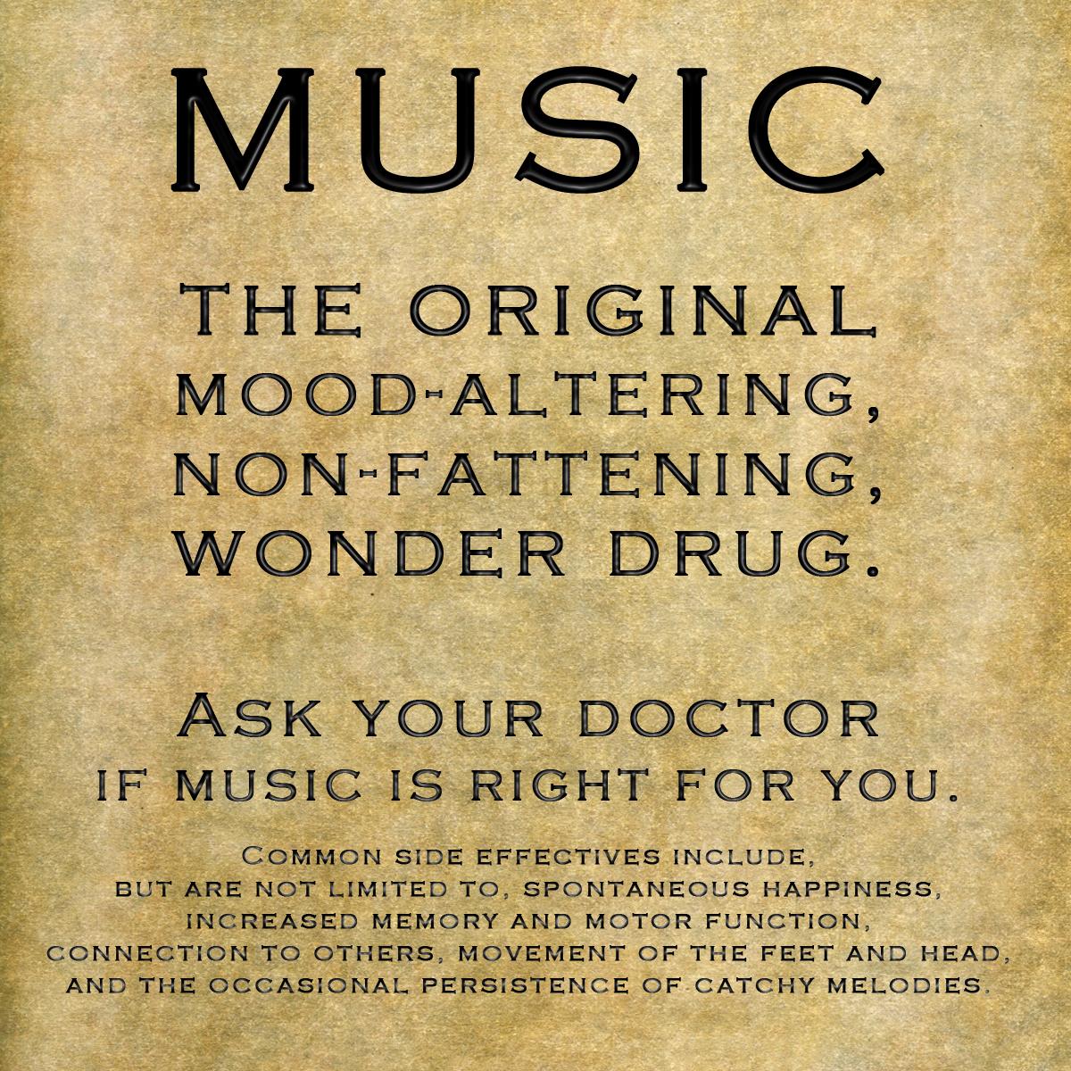 Music drug quote
