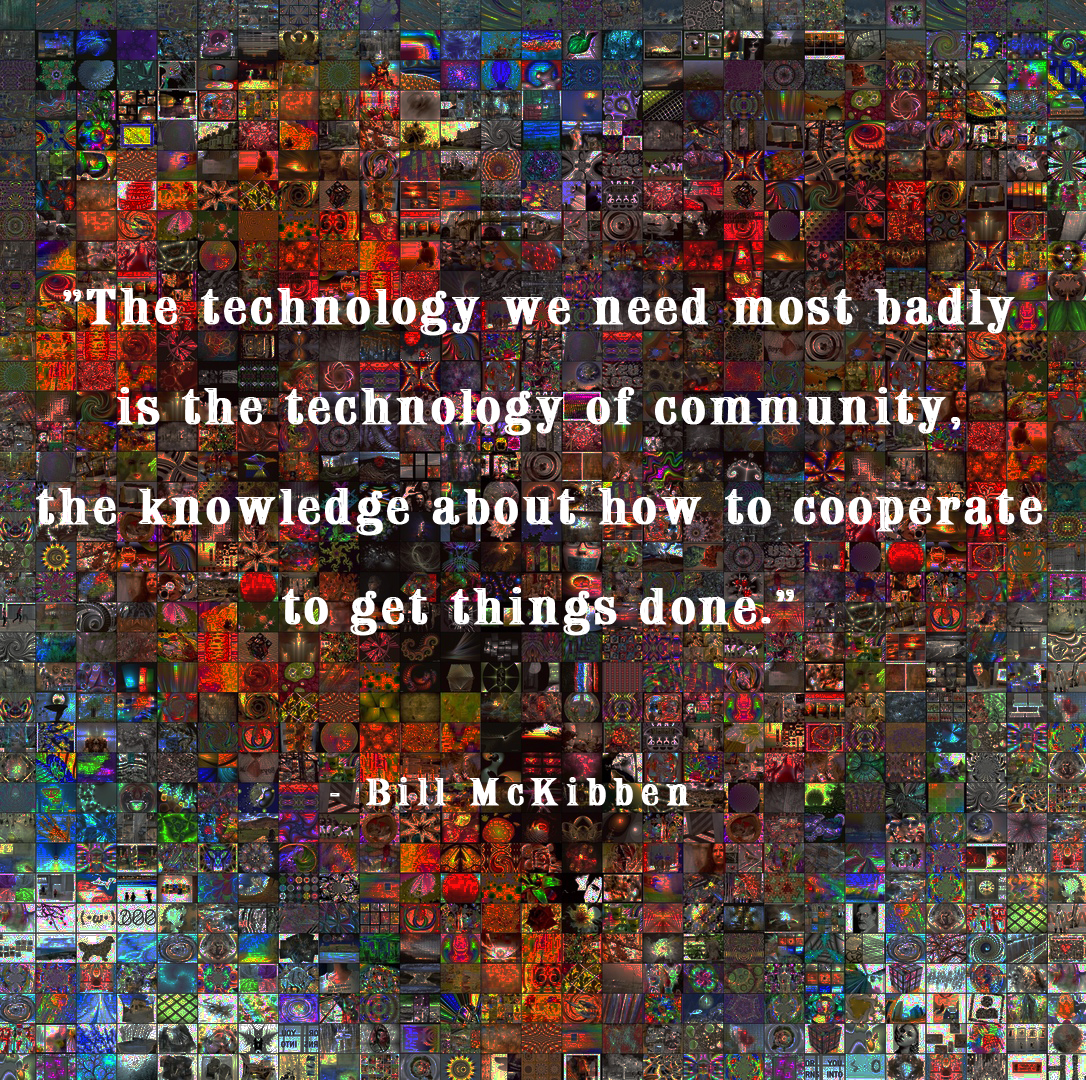 Technology of community quote