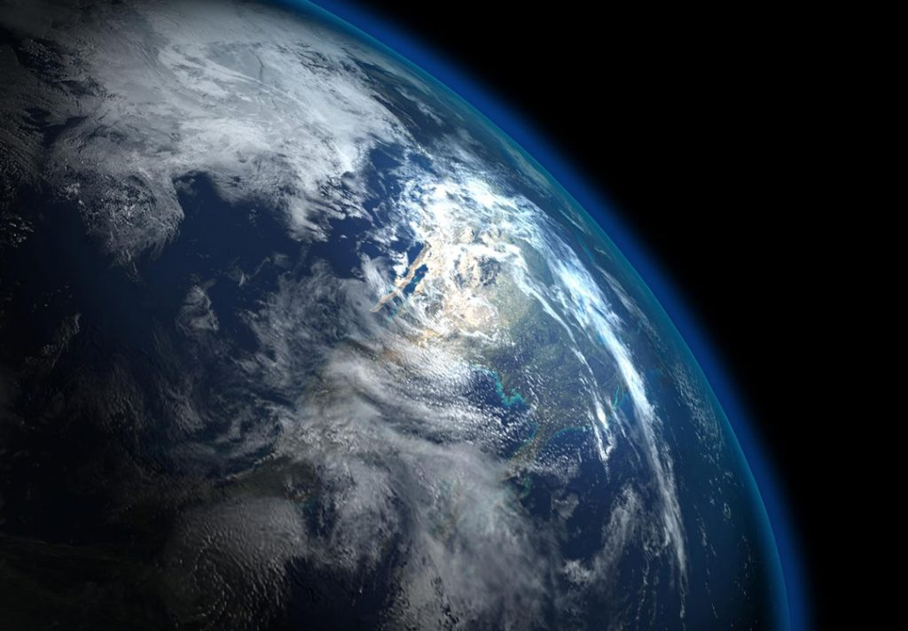 Earth - overview effect
